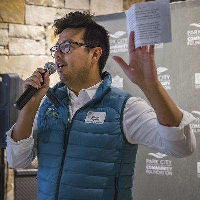 Diego Zegarra at Park City Community Foundation