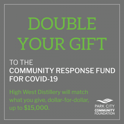 High West Challenge Grant Doubles Your Gifts
