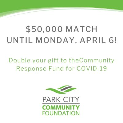 Double Your Gift through April 6!